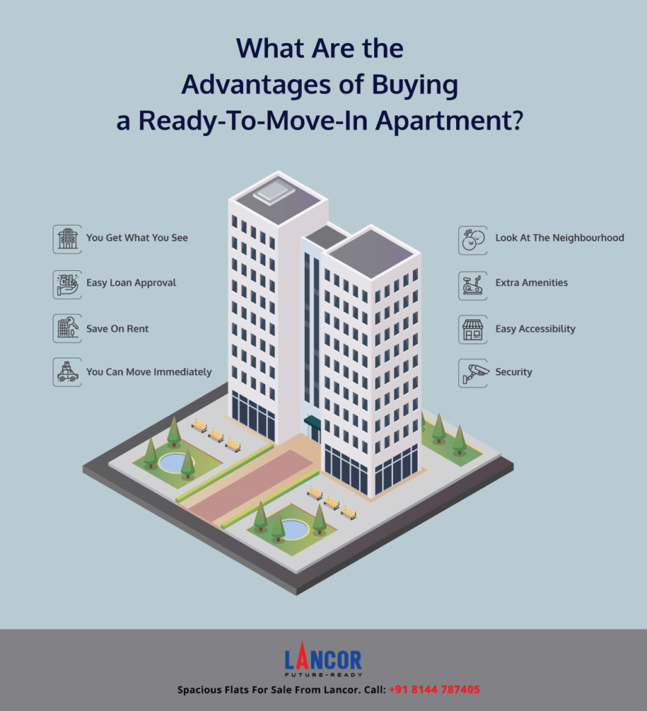 What Are the Advantages of Buying a Ready-To-Move-In Apartment