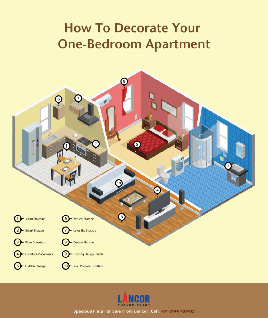 How To Decorate Your One-Bedroom Apartment?
