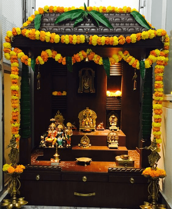 Stand-alone Pooja Niches